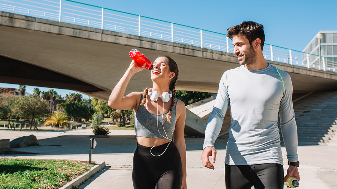 SWEAT TOGETHER, SWEET TOGETHER: Fitness Can Help Build Relationships